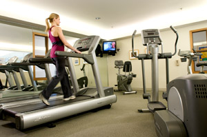Gym at Tiverton House