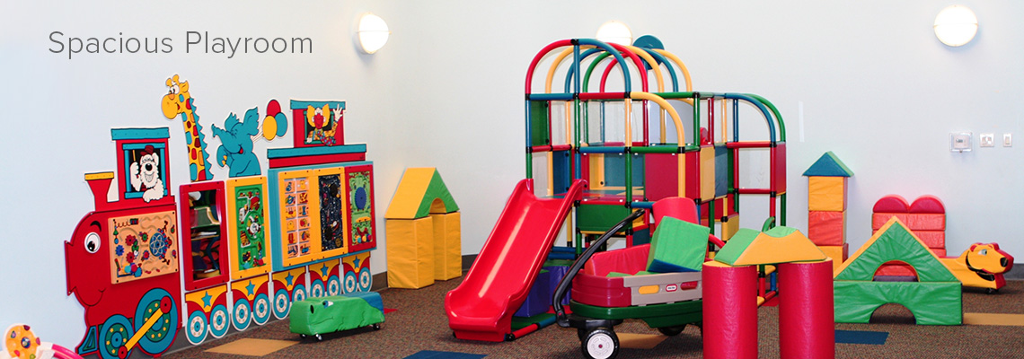 Spacious Playroom